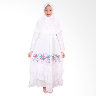 FAYRANY FGP-008B Busana Muslim Gamis Anak - Putih