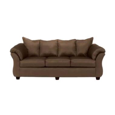 Ivaro Gadang Sofa - Dark Brown [3 Seater]