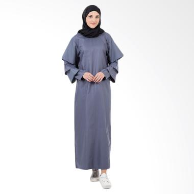 Covered Up CelIne Abaya In Gamis Wanita - Dark Grey