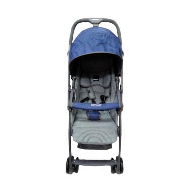 BabyDoes EasyLite M CH817I Kereta Dorong Bayi - Dark Blue