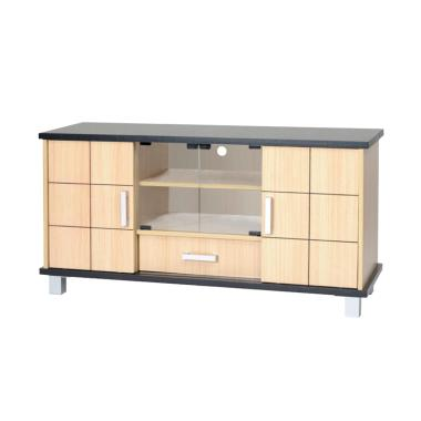 Super 511 Oak Sliding Bufet TV - Cream [Khusus JABODETABEK]