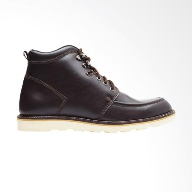 Wetan Shoes Kulit Asli Sepatu Boot Pria