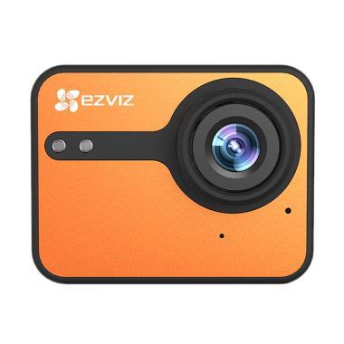 Ezviz S1C Action Camera - Orange [1080p/Full HD/Touch Screen]