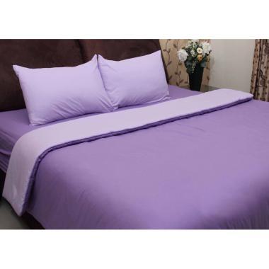 Chelsea Gold Polos Set Sprei dan Bed Cover - Lavender