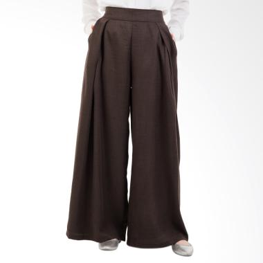 Valisha Arisha Pants Celana Muslim Wanita - Brown