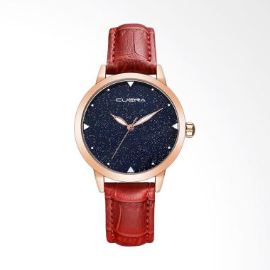 Cuena WAT1953R Top Luxury Fashion L ... f Jam Tangan Wanita - Red