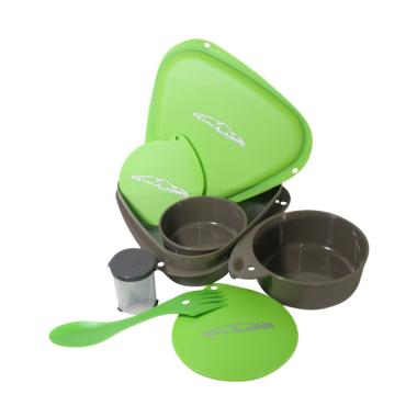Dhaulagiri Bowl Set Peralatan Makan Camping - Hijau