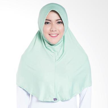 Elzatta Zaria M Rumana Jilbab Instant - Quiet Green