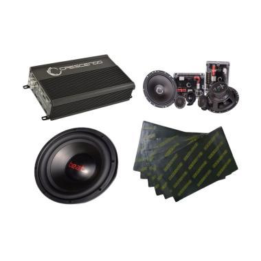 Paket Audio Mobil Crescendo 2 - Gema Audio  [Pasang Di Tempat]
