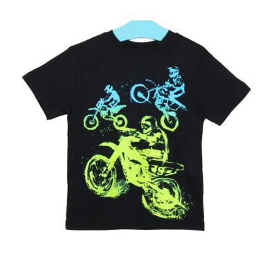 Millenia PLT 15 Kaos Anak Laki-Laki - Black Riders