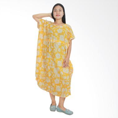 Batik Alhadi DPT002-14D Daster Lowo Batik Piyama  Baju Tidur Jumbo