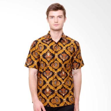 Batik Agrapana Warastika Kemeja Pria - Coklat