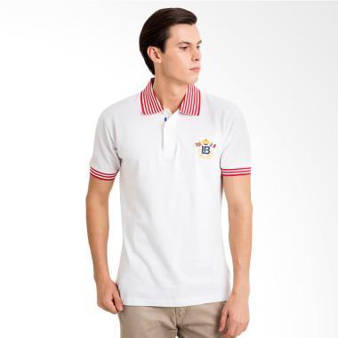 Labette Polo Shirt Pria - White [102230301]
