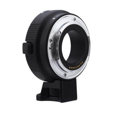 Comix Cm-Ef-Eosm Electronic Lens Mount Adapter - Black