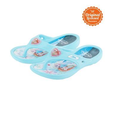 Disney Frozen Flip Flop Eva Sandals Anak Perempuan - Blue