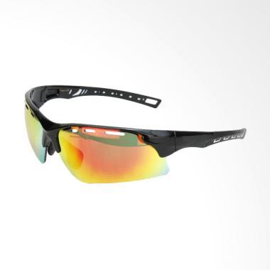 Eyewear Revo PC Lens Sunglasses Sports - Black