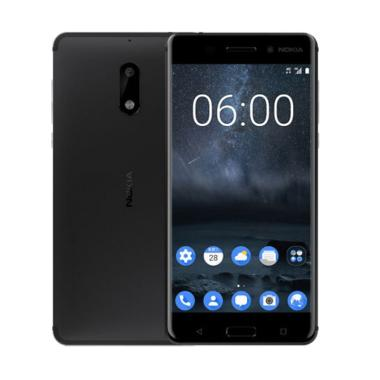 Nokia 6 Smartphone - Matte Black [3GB/32GB/4G LTE/16MP]