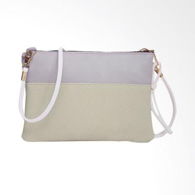 Lansdeal Women Fashion Purse Sling Bag - White [Large]