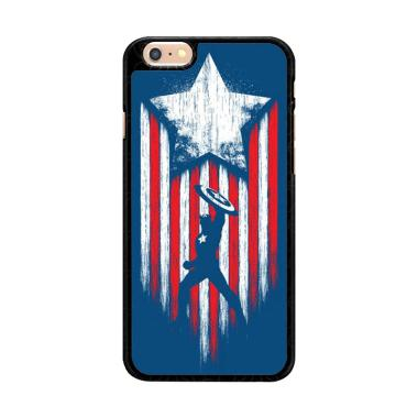 Flazzstore Captain America Blue O01 ... for iPhone 6 or iPhone 6S