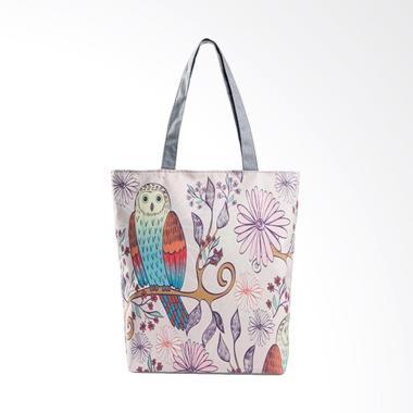 Lansdeal YHL60805182E Owl Printed Tote Bag Tas ...
