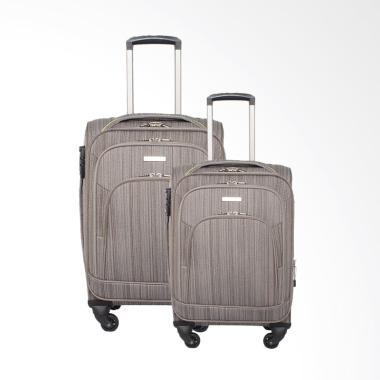 Navy Club 3880 Softcase Set Tas Koper - Khaki [Size 20 Inch + 24 Inch]
