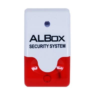 ALBOX MSF110 Mini Size Siren With Flashing Light Perangkat Keamanan