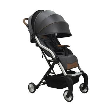 Hybrid Cabi Stroller Bayi - Ink Black free Rain Cover
