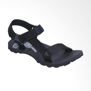Catenzo Sandal Gunung Pria - Black [061]