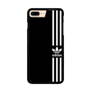 huge selection of f05c1 629cd Flazzstore Adidas Logo Black White Z4002 Custom Casing for iPhone 7 Plus or  iPhone 8 Plus