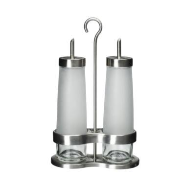 Ikea Droppar Oil & Vinegar Set Peralatan Dapur - Silver