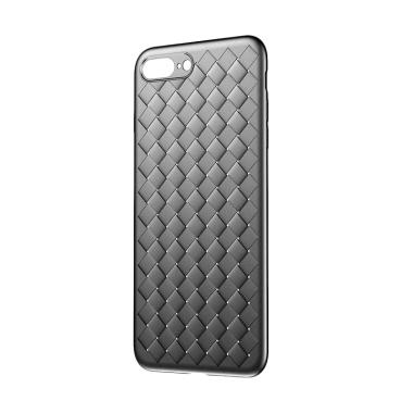 Baseus BV Weaving Casing for Apple  ...  or iPhone 8 Plus - Hitam