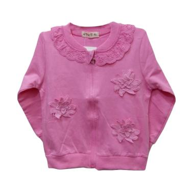 Import Kid Import Jacket Bayi Perempuan - Fuschia [Size XL]