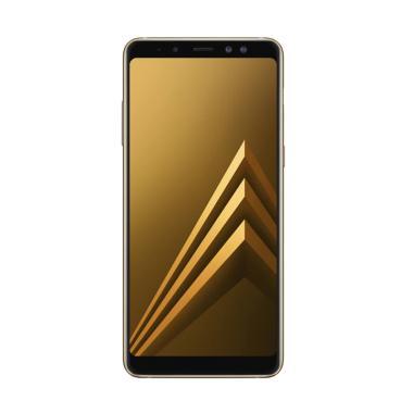 Samsung Galaxy A8 Plus Smartphone - Gold [64GB/6GB]