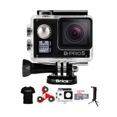 Brica B-PRO 5 AE Mark IIs AE2s Comb ... ndo Action Camera - Hitam