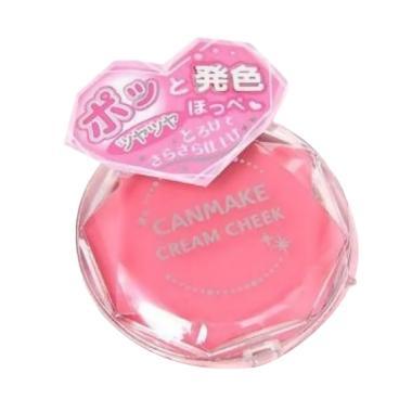 Canmake Tokyo Cream Cheek Blush On - 08 Clear Cute Strawberry