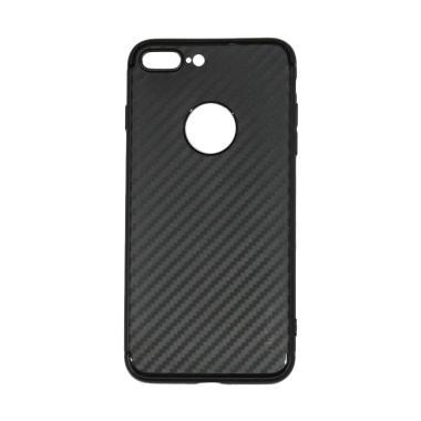 Lize Carbon iPhone 7 Plus Case Slim ... thin / Jelly Case - Black