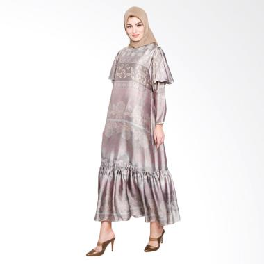 Ria Miranda Oliver Dress Muslim - Almond
