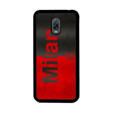 Flazzstore Ac Milan Soccer Font E09 ... or Samsung Galaxy J7 Plus