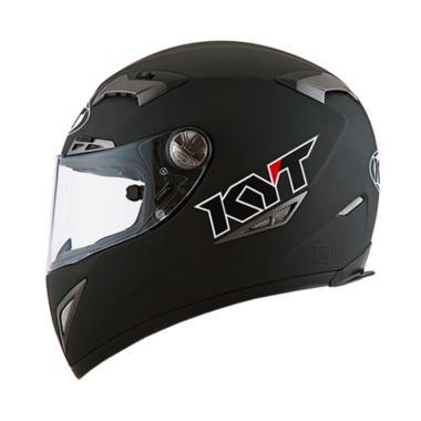 harga KYT C5 Titanio Special Edition Solid Helm Full Face - Black Matt Blibli.com