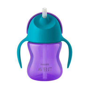 Philips Avent Bendy Straw Cup 7oz / 200 ml - Purple
