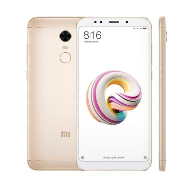 Xiaomi Redmi 5 Plus Smartphone - Gold [64GB/ 4GB] ( FREE SOFTCASE )