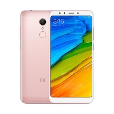 Xiaomi Redmi 5 Smartphone - Rose Gold [3 GB/32 GB/Resmi TAM]