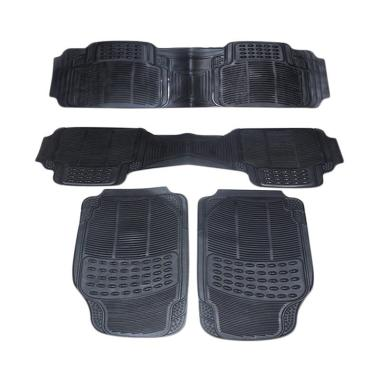 DURABLE Comfortable Universal PVC K ... 6 All New - Black [4 pcs]
