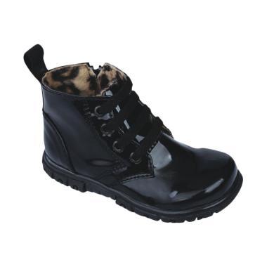 Syaqinah 083 Sepatu Boots Anak Laki-laki - Hitam