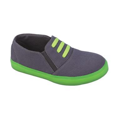 Syaqinah 027 Sepatu Sneakers Anak Laki-Laki - Abu