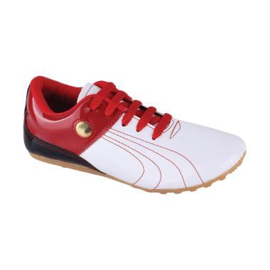 Syaqinah 025 Sepatu Futsal Anak Laki-Laki - Merah Kombinasi