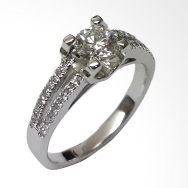 Pentacles SC4385 White Gold Ring With Diamond