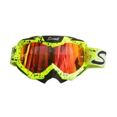 Snail MX37 Goggles Motif Sembur Pel ... angi-KuningStabiloSembur]