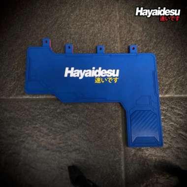 harga Promo Hayaidesu Mud Flap Penahan Lumpur SCOOPY RING 12 Aksesoris Kepet Motor - Biru Berkualitas Blibli.com