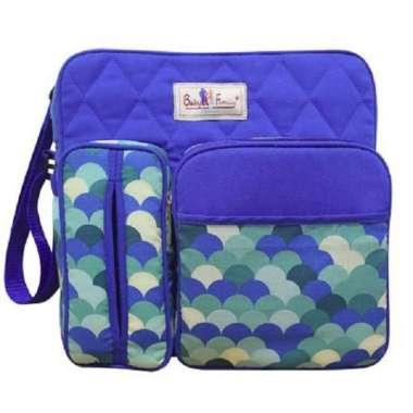 harga Tas Bayi Medium Baby Family   Tas diapers   Tas Diaper   Tas POPOK   Tas Susu  Tas Perlengkapan Bayi biru Blibli.com